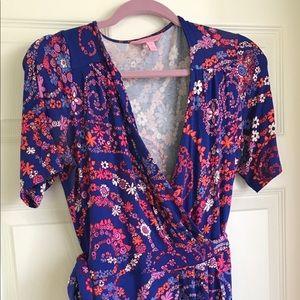 Lilly Pulitzer VINTAGE Wrap Dress Medium